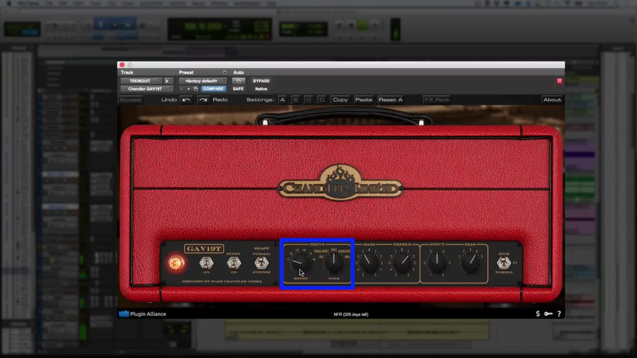 Video - Using The Brainworx Chandler GAV19T On DI Guitar | Studio One
