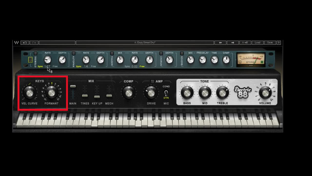 Tutorial - How To Use The Waves Electric 88 Keyboard Virtual