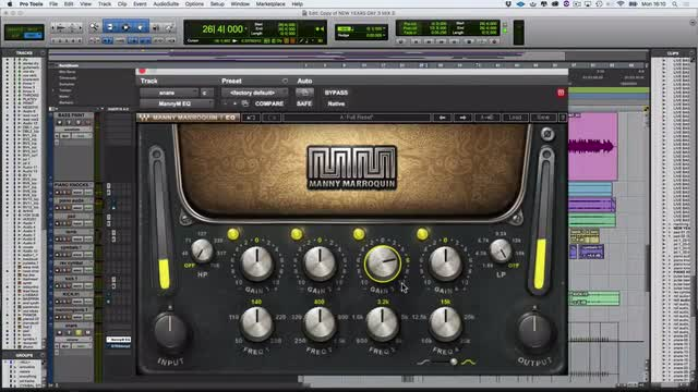 Using Waves Manny Marroquin EQ On a Snare