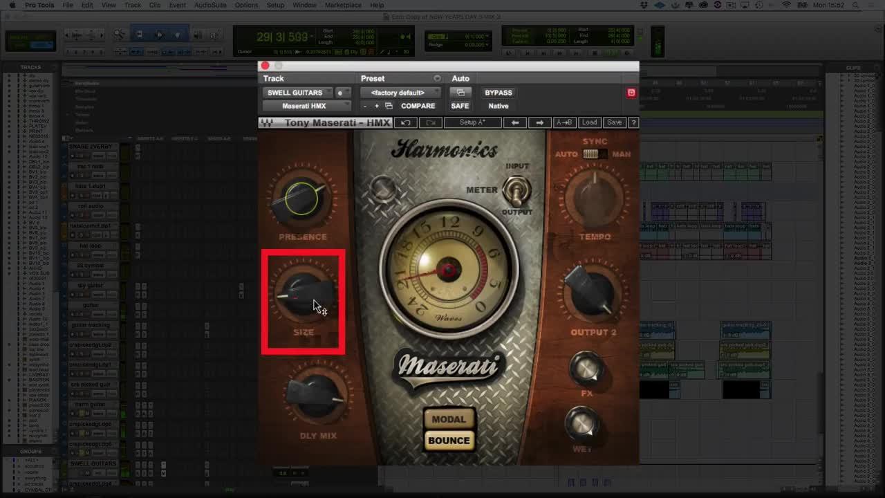 Using Waves Maserati HMX On a Guitar Bus | Paul Drew