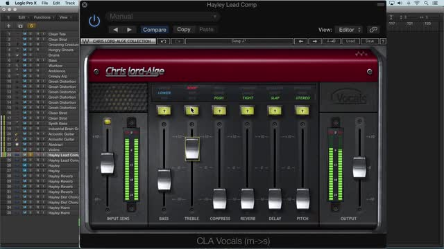 Using Waves CLA Vocals
