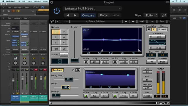 Enigma By Waves On Drums