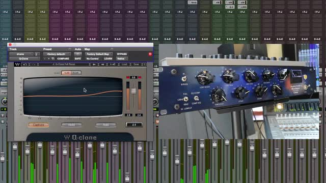 How To Model Outboard EQs Using Q-Clone By Waves
