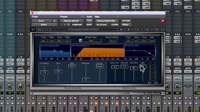 How To Sit Rap Vocal In A Mix Using Waves Renaissance Reverb Plugin