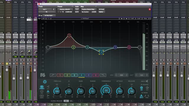 How To Focus Drums In A Mix Using Waves F6 Dynamic EQ Plug-in