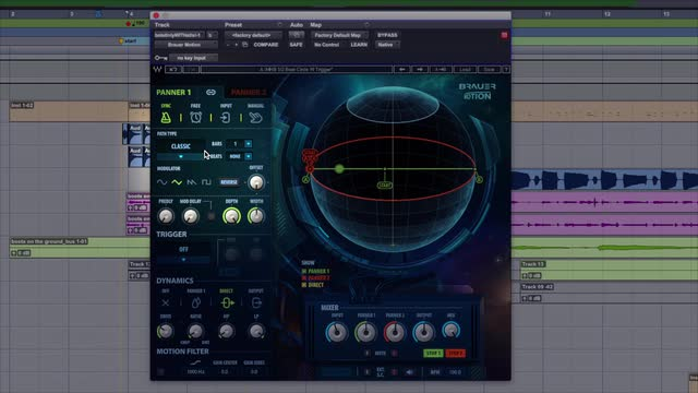 How To Use The Brauer Motion Auto Panner Plug-in By Waves