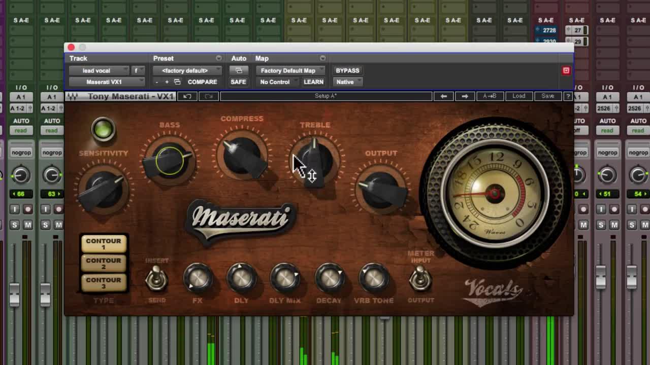 Pro Tools | Tutorial - Mixing A Vocal Using Waves Maserati VX1 Vocal