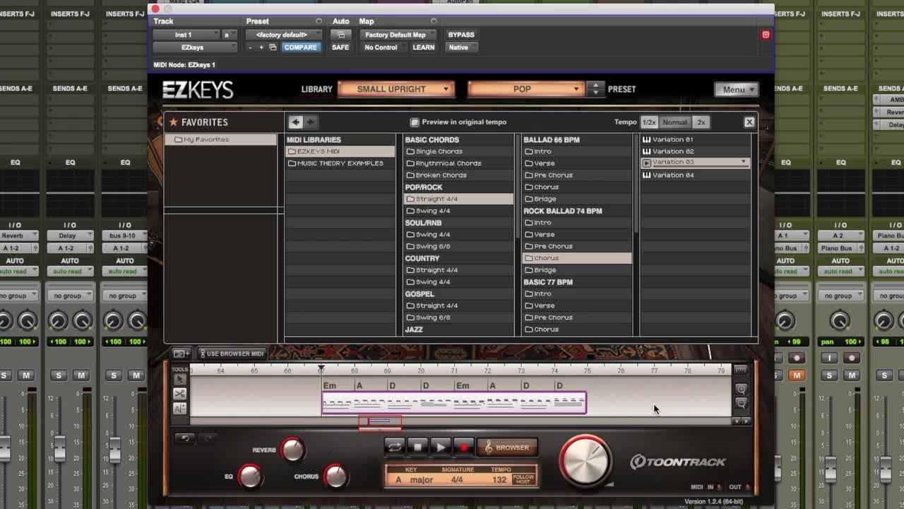 Tutorial - How To Get Piano & Keyboards Parts In Your Music
