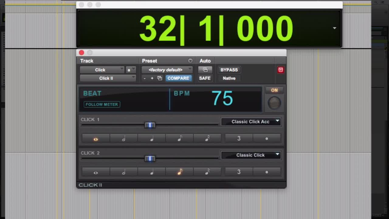 Free Tutorial – How To Manage Your Click Track Like a Pro In