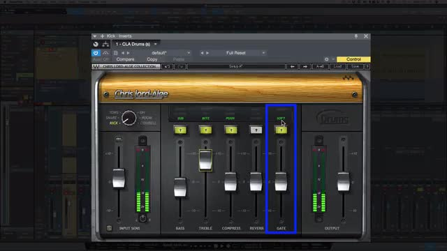 Using Waves CLA Plugin On Kick Drum