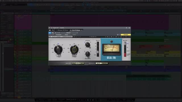 Using Waves Eddie Kramer Drum Channel On Tambourine