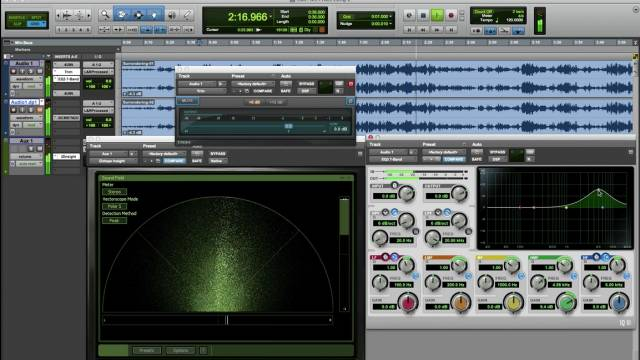 Using M/S Processing In Blue Cat MB-7  In Pro Tools