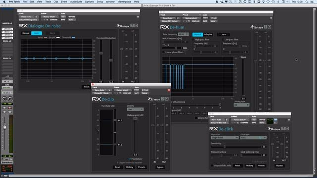 Understanding iZotope RX Elements Plugins