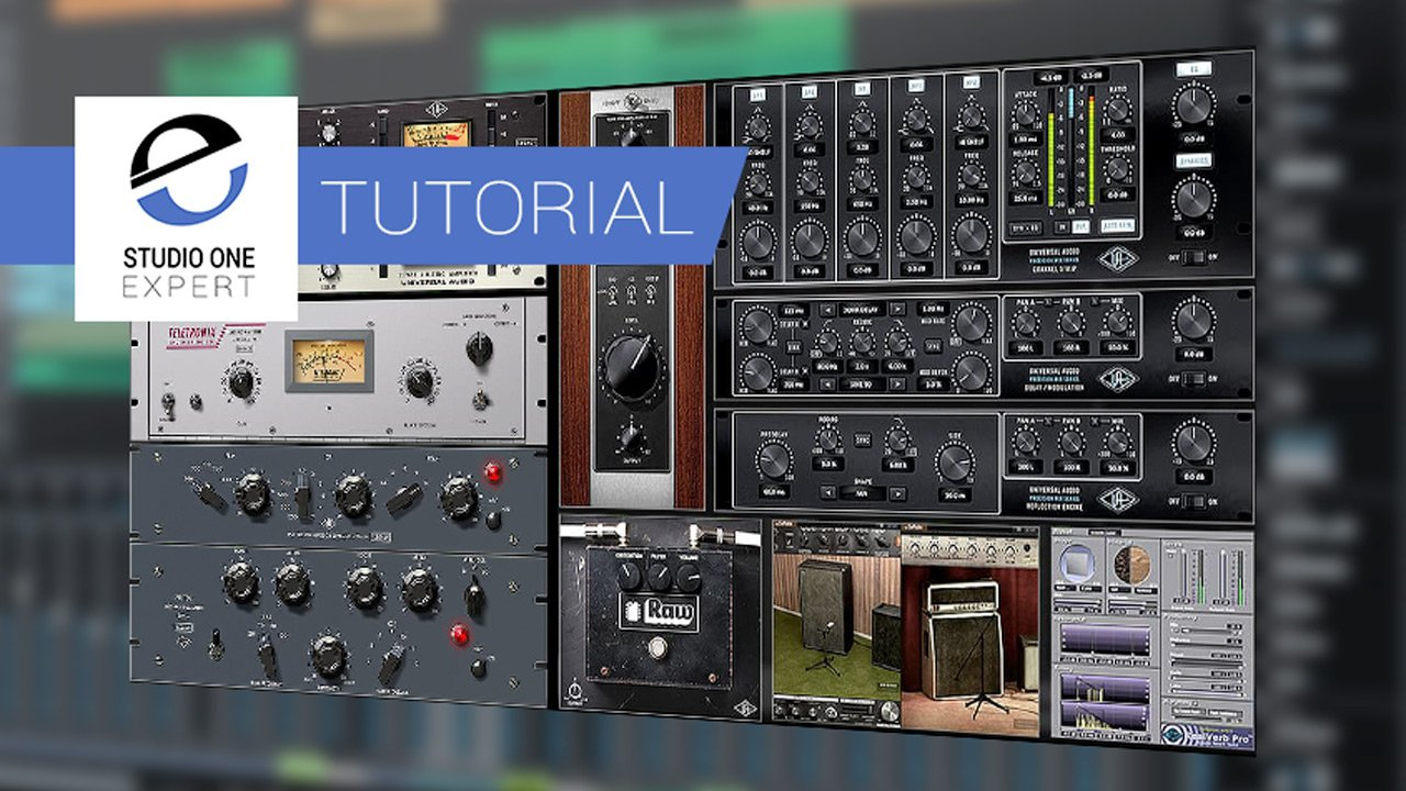Using The UAD Realtime Analog Classics Bundle On A Drum Kit