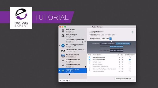 Using USB Mics With Pro Tools On A Mac