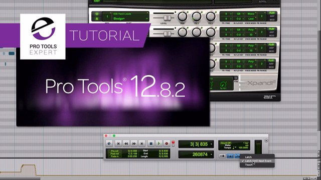 Free Tutorial - New MIDI Features In Pro Tools 12.8.2