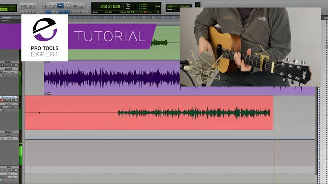 Pro Tools For Beginners - Overdubbing