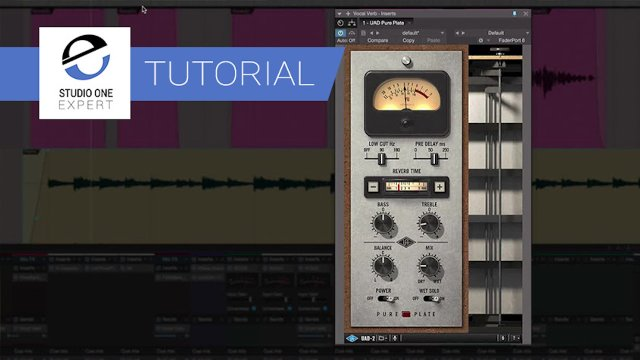Add Depth To Vocal And Piano With UAD Pure Plate Reverb