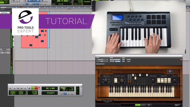 Pro Tools For Beginners - MIDI And Virtual Instruments