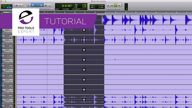 How To Use The New Playlist Comping Features In Pro Tools 2018