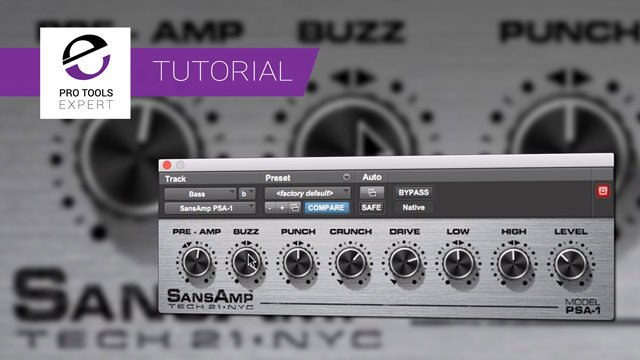 Using Sansamp Plug-in, What Do Buzz, Punch And Crunch Actually Do?