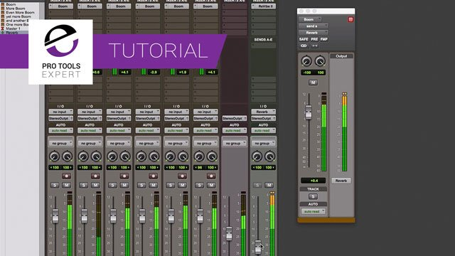Tip - Path Meter View In Pro Tools
