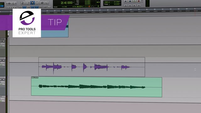 Tip - Toggle Waveform And Volume Views In Pro Tools