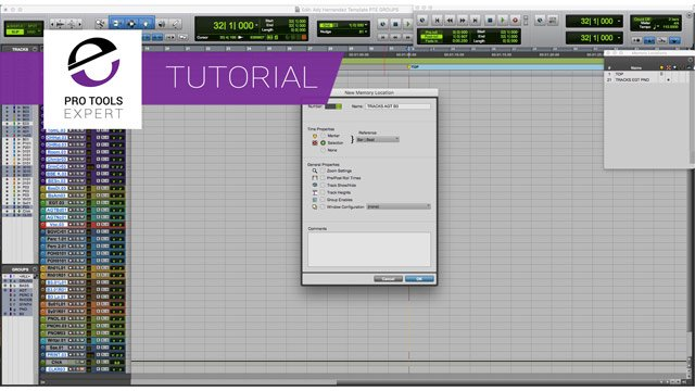 Free Tutorial – Using Tracking Selection Groups in Pro Tools