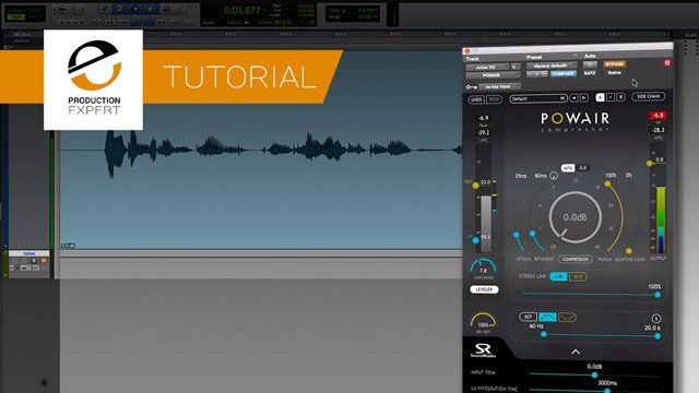 Tutorial - Using The Leveler Section Of POWAIR From SoundRadix To Level A Voiceover