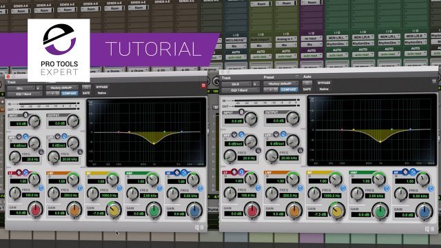 Processing Dual Mono Tracks By Linking Plug-in Controls In Pro Tools