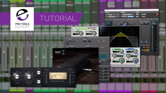 Tutorial - Dub Delays And More Using The Pro Tools Mixer And Stock Plugins