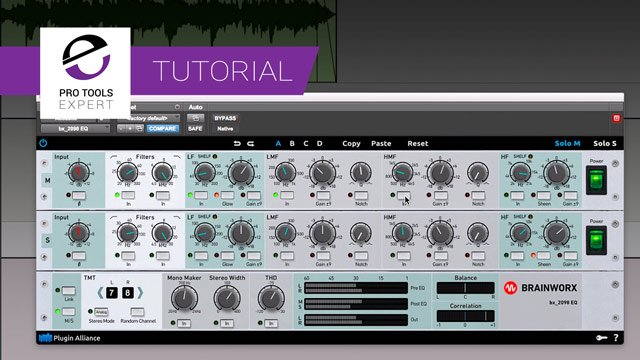 Free Tutorial - Using The Brainworx bx_2098 EQ On Acoustic Guitar