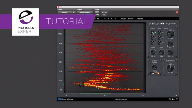 Free Tutorial - Using The Brainworx bx_panEQ EQ To Fix Issues On An Acoustic Guitar