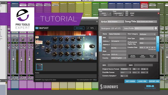 Free Tutorial - Logging Credits and Documenting Hardware Using Free Plug-ins
