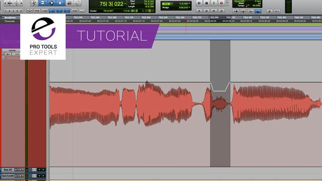Free Tutorial – Cleaning Up Vocals In Pro Tools