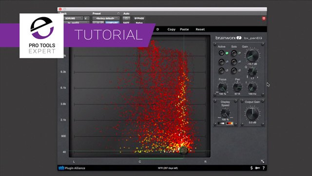 Free Tutorial - Using The Brainworx bx_panEQ To Fix Issues On A Drum Recording