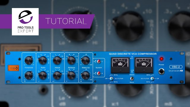 Free Tutorial - Unlinking The Vertigo VSC2 Compressor To Introduce Stereo Movement