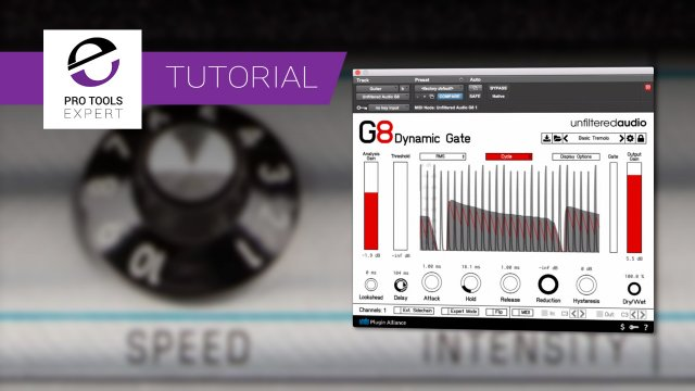 Tremolo Effects Using G8 From Unfiltered Audio