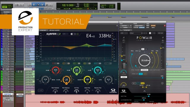 SurferEQ And POWAIR - Are These Sound Radix Plugins The Ultimate Channel Strip?