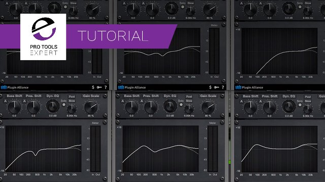 Gain Scaling The bx_digital V3 EQ Using Linked Control Groups In Pro Tools