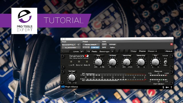 Are you distracted by the extreme panning when mixing on headphones? A Fast Way To Fix That Using bx_stereomaker From Plugin Alliance