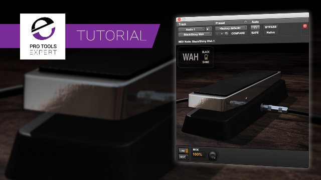 Get Hands On Control Of Avid Black Shiny Wah Using The Mod Wheel Or Set Up An Expression Pedal And Use Your Feet