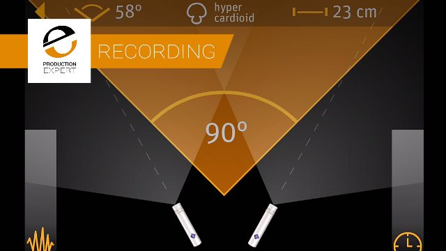 Use The Neumann App To Check SRA And See With Your Eyes What Your Stereo Microphone Array Will Sound Like In Your Ears.