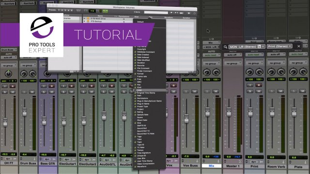 Plug-in Search And Menu Improvements - See How The New Features In Pro Tools 2018.7 Can Save You Time