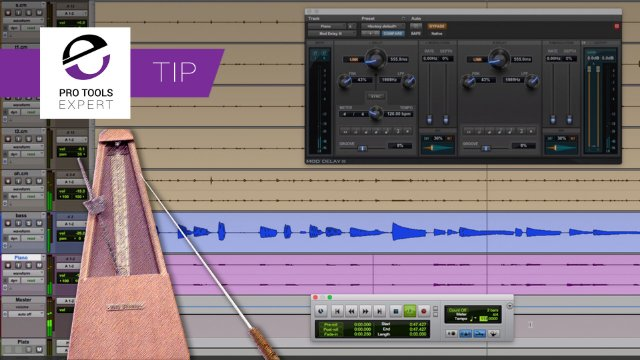Quickly Find Approximate Tempo In Pro Tools - Expert Tip