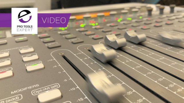 The Best Desktop Motorised Control Surface Of All Time For Pro Tools - We Show You Why