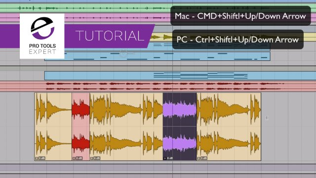 Audition Pro Tools Playlists On the Fly - Do You Know How To Use These Two Shortcuts?