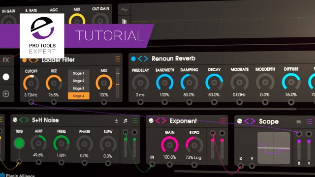 Using The Scope Module In Unfiltered Audio's BYOME To See Modulation - Expert Tutorial