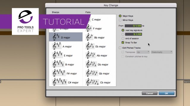 Unpitched MIDI Tracks And Note Chasing In Pro Tools