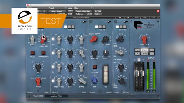 Test - Mastering A Mix Using Waves Abbey Road TG Mastering Chain Plug in